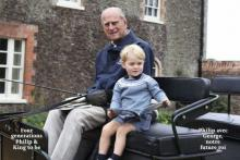 Prince Phillip and George