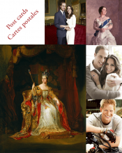 Premium royal postcards